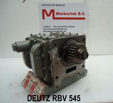 Deutz Oil pump